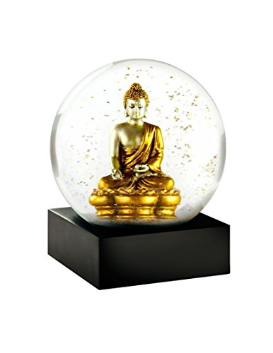 Snow Globe (Gold Buddha)