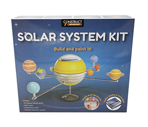 Construct & Create Build Your Own Solar System Kit