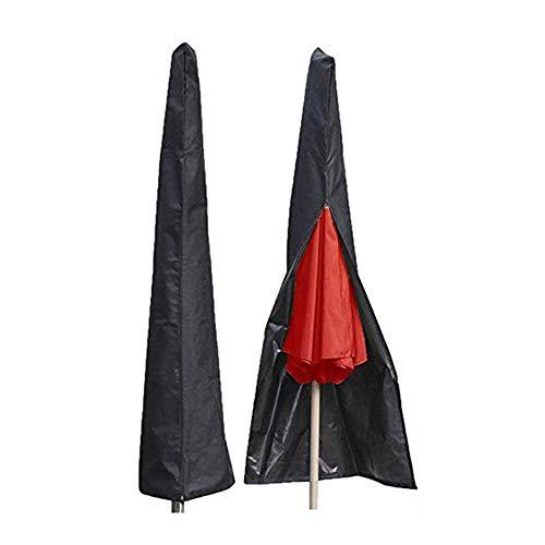 CHUER Housse de Protection Premium pour Parasol 280CM Déporté Housse de Protection en 210D Oxford Imperméable Résistant à UV Intempéries avec Sac de Rangement
