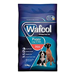 SENSITIVE DOG FOOD: With a single source of fish protein, this dog food is gentle on sensitive digestive systems - with salmon as the single fish protein source and potato as the main carbohydrate source. Wafcol Salmon and Potato also contains probio...