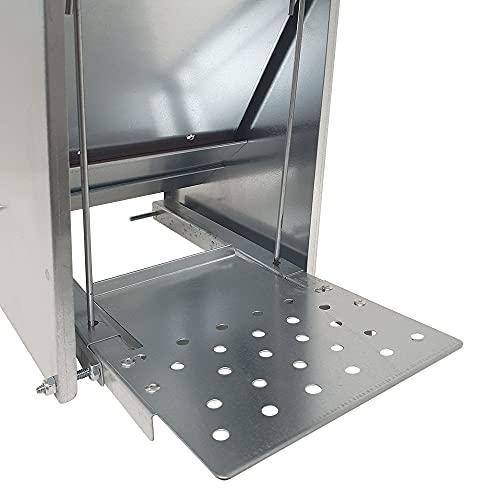 Futterautomat mit Trittklappe 10 kg - 2