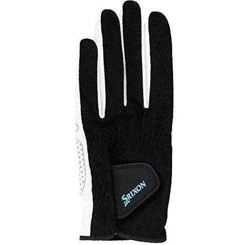 DUNLOP(ダンロップ)SRIXON(スリクソン) メンズ シリコンプリントグローブ (両手セット) ブラック SGG-2580-081 (Mサイズ)