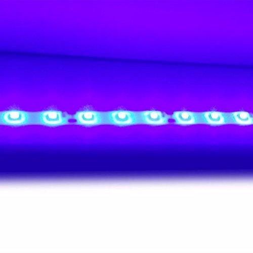 vidaXL Hochglanz Mediawand Wohnwand LED TV-Wand schwarz 169,2 cm - 6