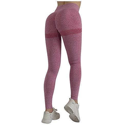 XiaoChey Mujer Yoga Leggings Ropa Deportiva de Cintura Alta Pantalones Cortos Elegantes Sexy Ligero con Pantalones Suaves Medias elásticas para Correr Fitness Pantalones Yoga Leggings