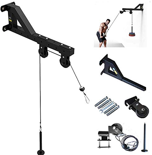 Amazing Deal Ipanda Forearm Wrist Trainer Arm Strength Training Rope Cable Pulley System Home Gym