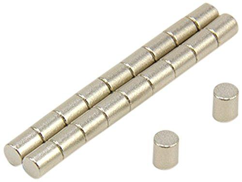 First4magnets F0405SC-20 4mm Durchmesser x 5mm dicker Samarium-Kobalt-Magnet-0,44kg Anziehungskraft (2 St-Packung), dia thick, 20 Stück