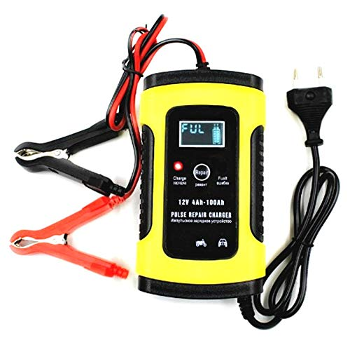 For Sale! LCD Display Car Battery Charger Power Pulse Repair 12V 6A Full Automatic Wet Dry Lead Acid...