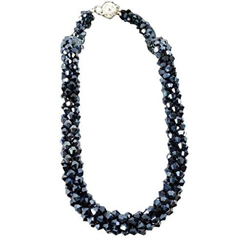 [Ink Blue] Accessori di abbigliamento di moda Nuova collana di belle donne