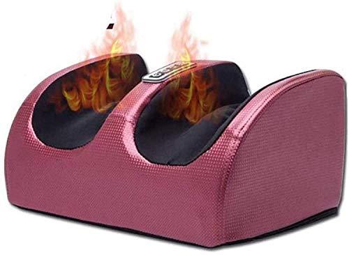 Masajeador de pies eléctrico con masajeador de pies de acupresión de amasamiento profundo eléctrico calentado, masajeador de presión de aire para piernas y pantorrillas para pies