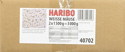 Haribo Weisse Mäuse, 1er Pack (2x1,5kg)