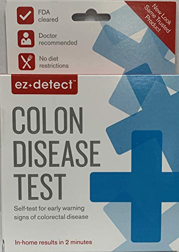 EZ Detect Colon Disease Test Kit - 5 Test Pads, Pack of 3