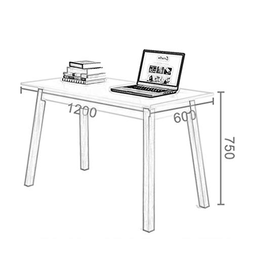 NBVCX Furniture Decoration Dining Table Computer Desk Adapts to Any Space with Wooden Legs Desktop Table Student Desk Writing Desk Chair Set