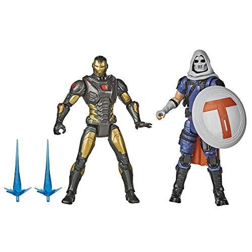 Avengers - Iron Man Contro Taskmaster (Confezione da 2 Action Figure 15 cm, Serie Gamerverse Ispirata al Videogioco Avengers)