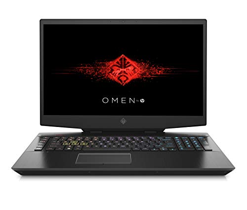 HP OMEN 17-cb0042nf PC Portable Gaming 17,3' FHD IPS 144Hz Noir (Intel Core i7, RAM 16 Go, 1 To + SSD 512 Go, NVIDIA GeForce RTX 2070, AZERTY, Windows 10)