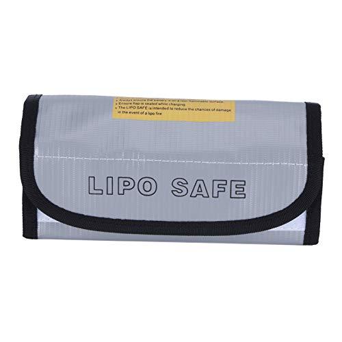 Bolsa de la caja fuerte de la batería, bolsa de la caja fuerte de la batería de tipo cerrado plateado para el hogar para la batería