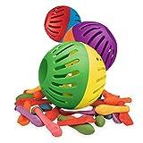Globos de Agua Globo de Agua Bola de Polo acuático Que Incluye la Tarjeta de desafío 20, Globo 3: un área de Juegos para niños y Adultos