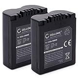 CELLONIC 2X Batterie Compatible avec Leica V-LUX 1 Lumix DMC-FZ8 DMC-FZ7 DMC-FZ18...