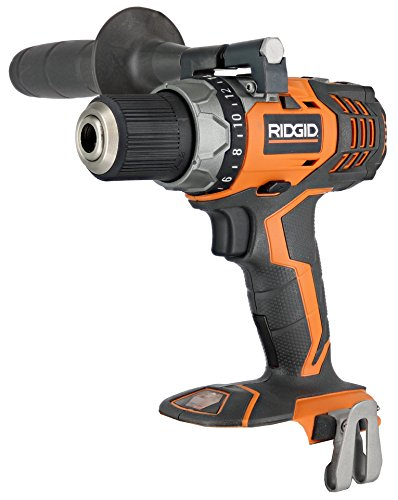 Ridgid Fuego R86008 18V Lithium Ion 1650 RPM Cordless Compact 2 Speed Drill / Driver with LED Grip Light and Keyless Chuck (Battery Not Included, Power Tool Only)