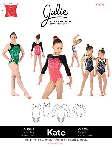 JALIE 3901 - Kate Gymnastikanzug - Schnittmuster für Kinder und Erwachsene
