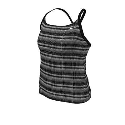 Nike Swim Missy Racerback Tankini, Black - XL