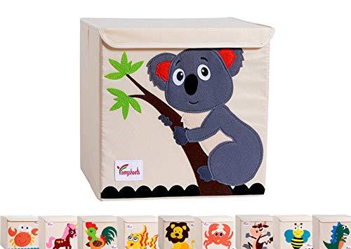 Rengzun Pliable Boîte de Rangement Jouets pour Enfants Grande Capacité Cube Organisateur de Animé Tissu Oxford Cube de Rangement