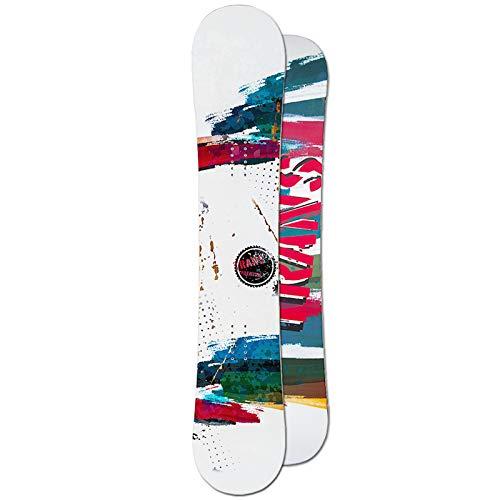Unbekannt Trans Freestyle Snowboard Premium Man White ~ 146 cm Vario Rocker