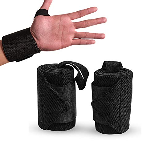 chunnron Muñequeras Agarre Muñequeras Mujer Soporte de muñeca para Hombres Gimnasio Culturismo, Soporte de muñeca Pesos de la muñeca Wrist Brace