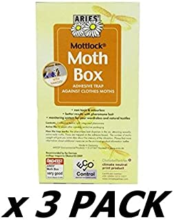 Mottlock Mottenbox Protection Of Clothes (Pack of 3)