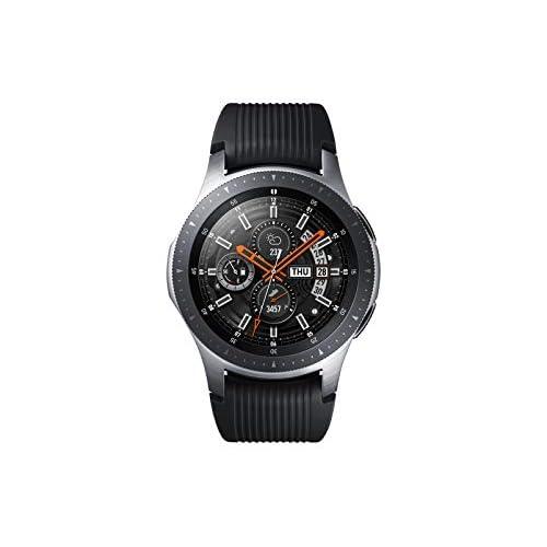 Samsung Galaxy Watch Smartwatch Android, Bluetooth, Fitness Tracker e GPS, Processore Dual Core 1.15 GHz, Resistente all'Acqua fino a 5 ATM, Argento, 46 mm, Versione Italiana