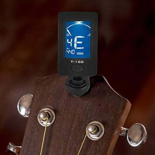 Afinador de cuerdas Afinador T-100 Totalmente funcional Material de cuerdas de nailon Mano de obra fina, para entusiastas de la guitarra, para doce instrumentos de temperamento