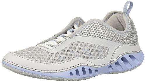 Columbia Drainmaker 3D, Zapatillas Mujer, Blanco Crema (Grey Ice, Whisper), 42 EU