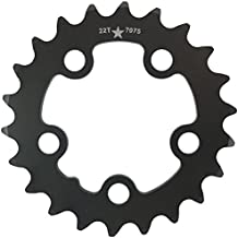 USAMade 58mm BCD 22T 5-Bolt SharkTooth Pro Mountain Chainring Made in USA