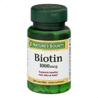 NATURES BOUNTY BIOTIN 1000MG 100S