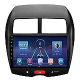 ZHANGYY Unidad Principal estéreo con Radio de Coche Android 8.1 de 10.1 Pulgadas Compatible con Mitsubishi ASX 2013-2018, navegación GPS/Bluetooth/FM/RDS/Control del Volante/cámara Trasera