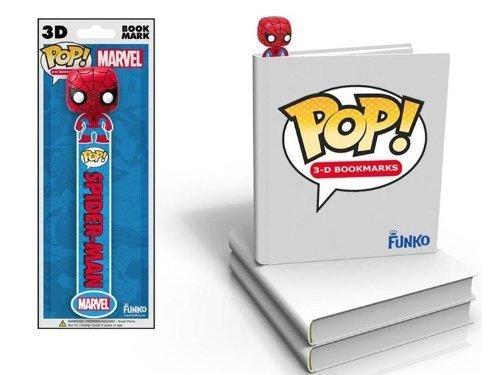 Funko Marvel Spiderman 3D Bookmark