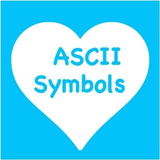 ascii cool symbols