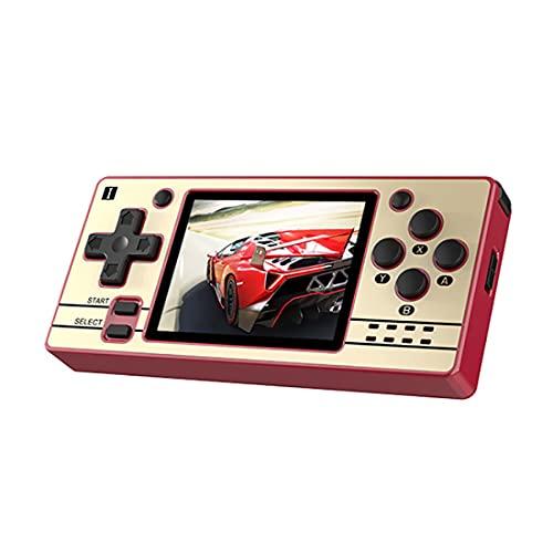 YANXU Consola de Juegos Portátil para Niños Adultos con Chip de Sistema de Código Abierto Retro Gratis con 2000 Consola de Videojuegos Portátil de Juegos Clásicos Pantalla IPS de 3 5
