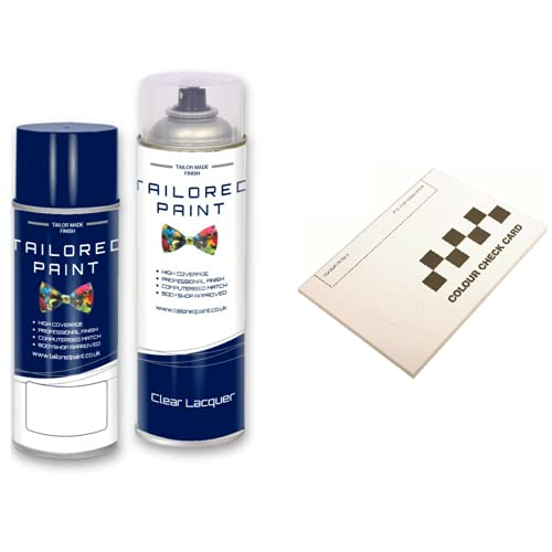 Tailored Paint Pintura en aerosol para Ford Focus 2011-2017 Absolute Black Pearl (Aerosol pintura en aerosol + laca)