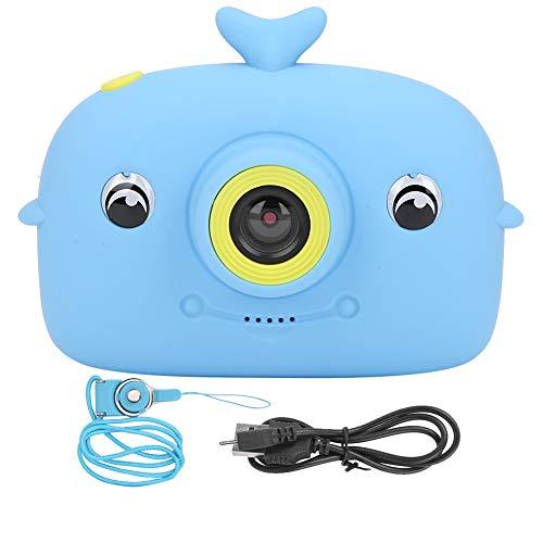 Cámara para niños, cámara Digital para niños de Dibujos Animados, cámara Deportiva para niños, batería de 800 mAh, Interfaz USB, cámara portátil para niños, para Amigos, para el hogar, para
