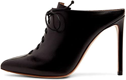 Tftory&1314 Mocassins Printemps épais avec chaussures simples Femme British Wind petites chaussures en cuir tête carrée avec sauvage Noir   41 UE