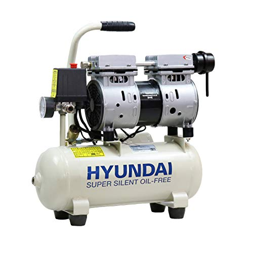 Hyundai HY5508 8 Litre Silenced Air Compressor, 550 W, 230...