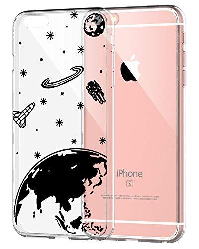 AIsoar Coque iPhone 6/ 6S,Ultra Flex Series Housse de Protection Souple avec Protection Flexible et Crystal TPU Premium pour iPhone 6/ 6S [Très Légère/Ajustement Parfait/Mince] (Espace)