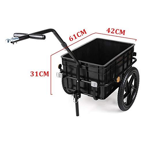 QWERTOUY Fiets Aanhangwagen & wandelwagen Elektrische Rolstoel Aanhangwagen & wandelwagen Draagvermogen 50-70KGS Wiel Grootte 40CM