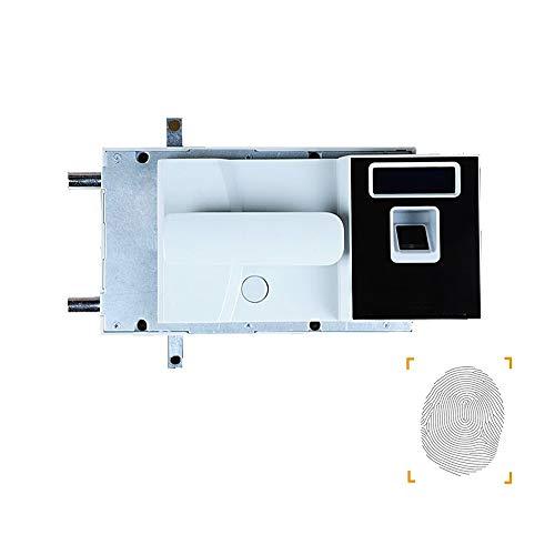 no brand Pratique Mot de Passe d'empreintes digitales Cabinet de Verrouillage avec fichier LCD de Verrouillage Cabinet de sécurité avec poignée Facile à Installer