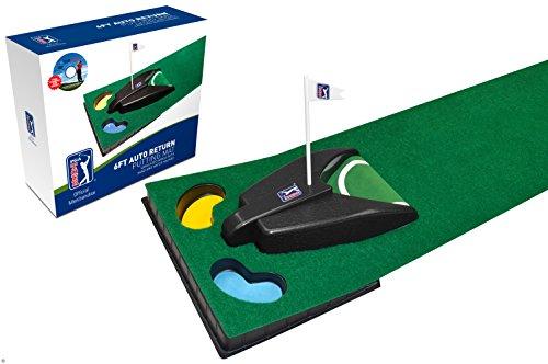 PGA Tour Tapis de putting avec retour de balle automatique