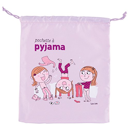 Bolsa de pijama Zen Club des filles - Derrière la porte