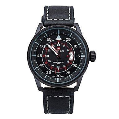 2015 neue beiläufige Mens Marke Quarzuhren mit Digital Mode Uhr 30 m wasserdicht Herren-Uhr