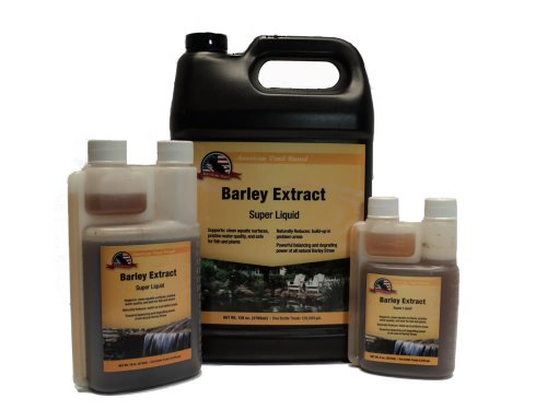 Liquid Barley Straw Extract 8oz Pond Water Treatment
