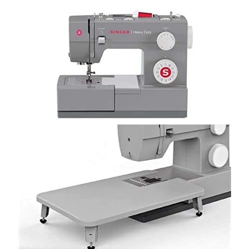 SINGER | Heavy Duty Sewing Machine with 110 Stitch Applications, & Canvas Machine Tote