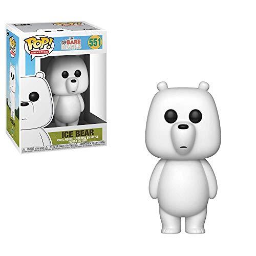 Funko- Pop Vinyl: We Bare Bears: Ice Bear Animation Figura da Collezione, Multicolore, 37770